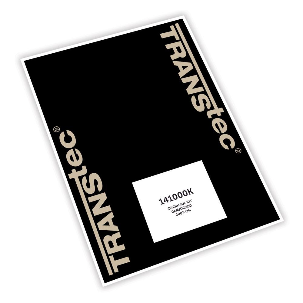 141000K - OVERHAUL KIT (0AM/DQ200) 2007-ON | Transmissions